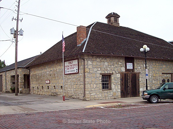 Pony Express Station #1 - Marysville, Kansas - Buildings