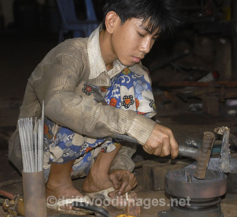 Blacksmith Cambodia - South East Asia