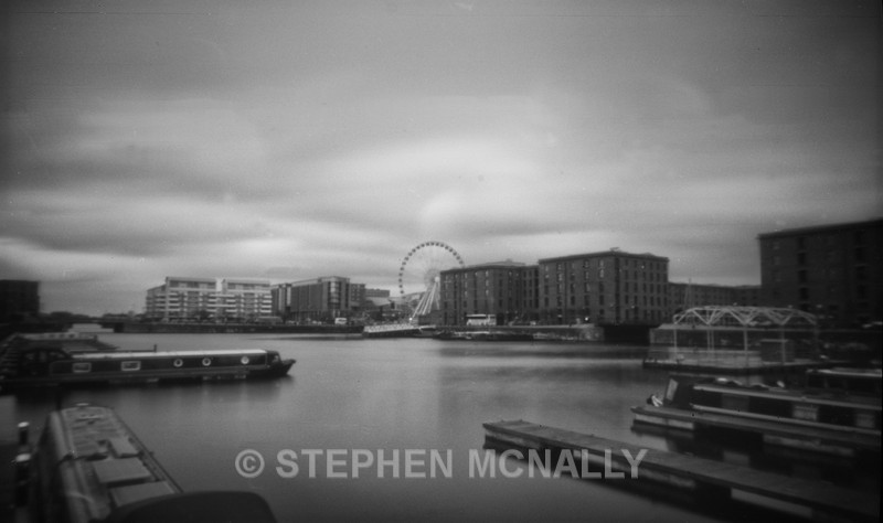 Salt House Dock - Pinhole Photography