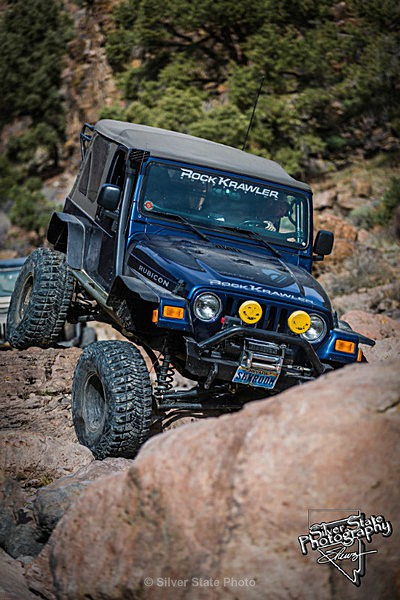 Jeep in the Rocks - 'Variety'
