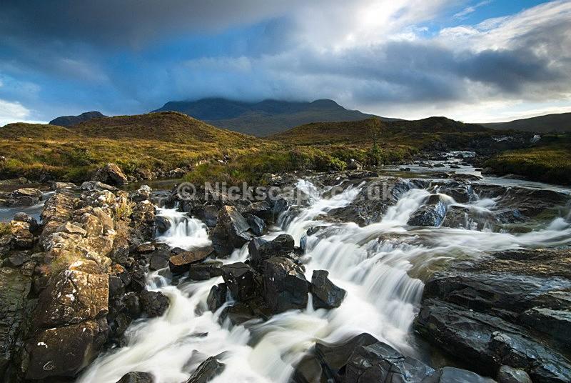 Sligachan River and Cuillin Mountains - Scotland50 - Scotland