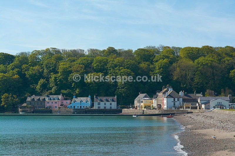Photograph of summer at Dale Village in Pembrokeshire