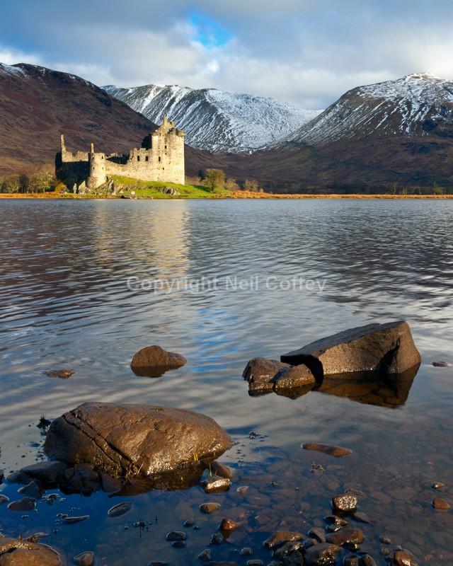 Kilchurn Castle, Loch Awe, Argyll & Bute - Portrait format