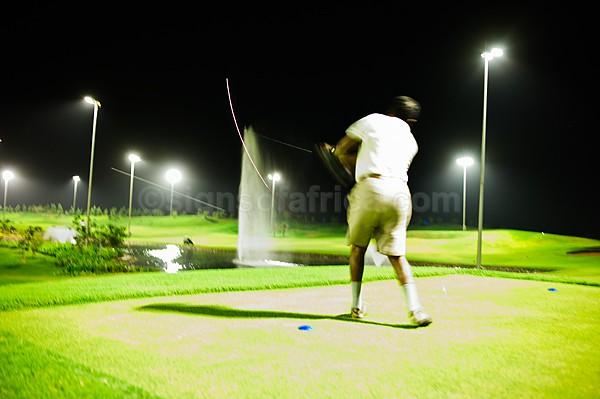 Night Golf, Khartoum, Sudan