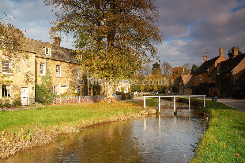 Lower Slaughter Village | Classic British Village Scene | Cotswold Photography Gallery