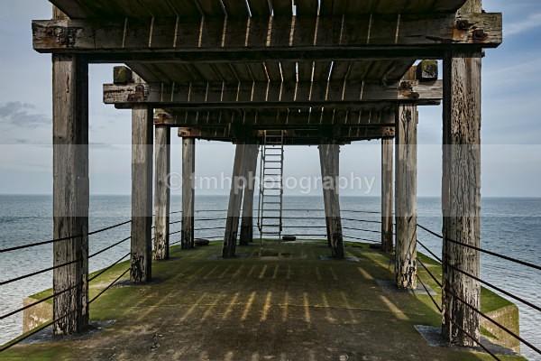 Under the Pier - Yorkshire Coast