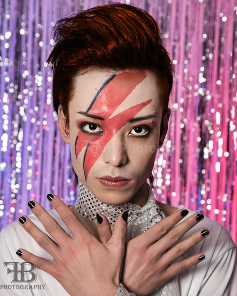 Bowie  and Twiggy-4 - Creative Portraiture