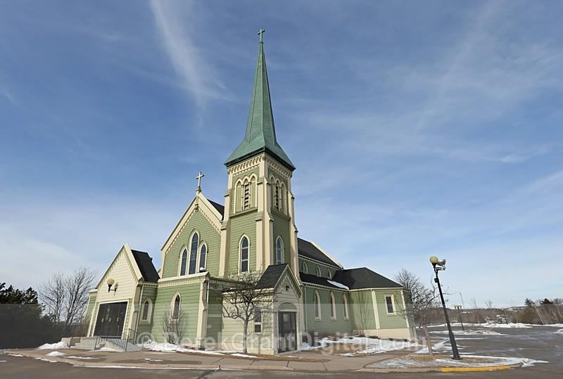 St. Rose of Lima Catholic Church ~ Saint John, New Brunswick Canada  2 - Churches of New Brunswick