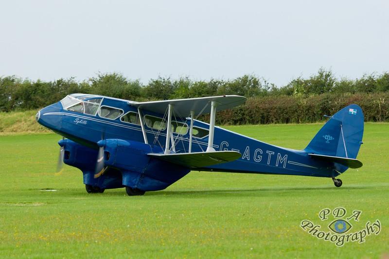 22 De Havilland DH 89A Dragon Rapide
