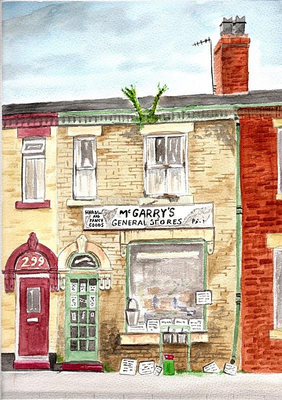 McGarrys - Watercolour Paintings