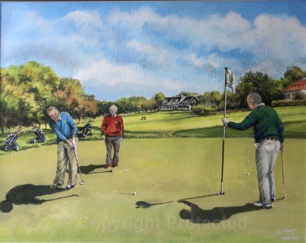 Bruntsfield Golf Club, Edinburgh - Commissioned Work