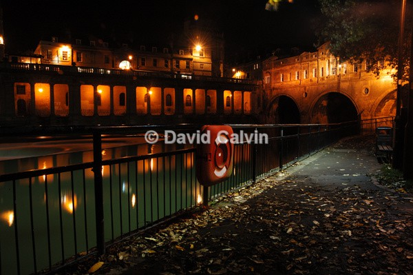 Pultney Bridge & Weir, Bath - Nocturnal