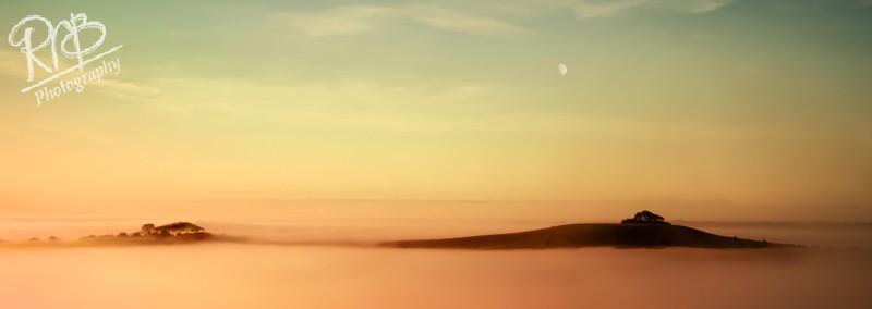 Woodborough Hill Rising - Panoramic Images