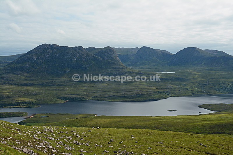 View from Stac Pollaidh - Scottish Highlands - Scotland