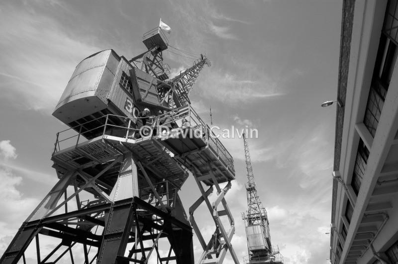 Electric Cranes - Bristol Harbourside