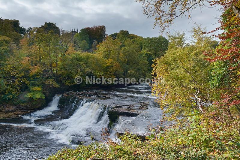Aysgarth Middle Falls - Yorkshire Dales - Yorkshire
