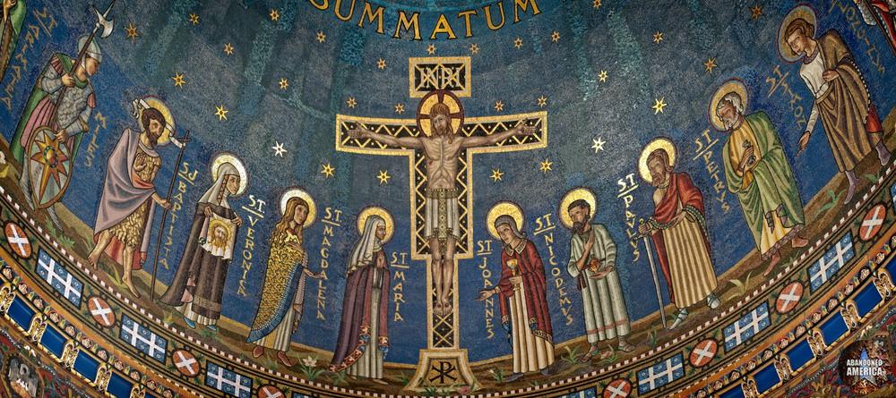Church of the Transfiguration (Philadelphia, PA)   Crucifixion - The Church of the Transfiguration