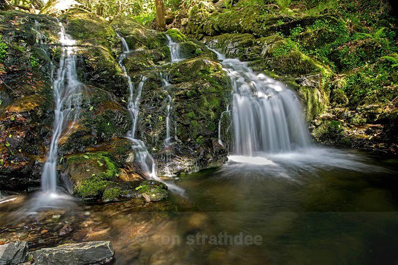 Ballaglass Waterfall - Land of Man