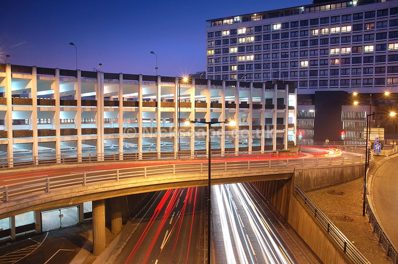 55 Degrees North and Central Motorway in Newcastle upon Tyne