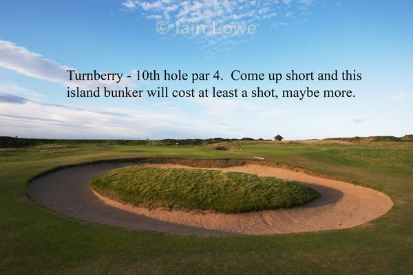 Turnberry 10th - Turnberry Ailsa Championship Course