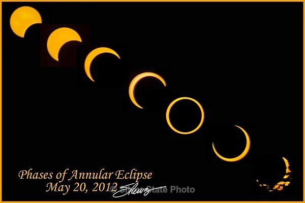 Annular Eclipse Montage - 'Variety'