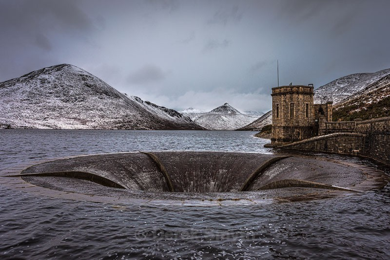 Silent Valley Reservoir In Winter - Co. Down