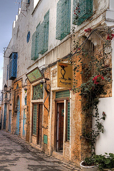 Tunis - Alleyway - Tunis, Carthage and Sidu Bou Said