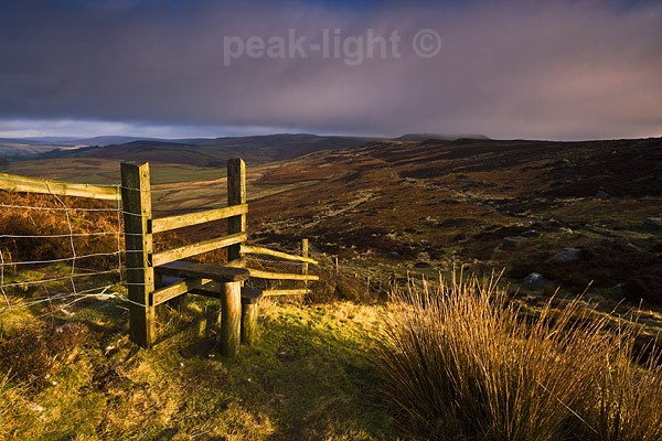 Millstone Stile - Peak District