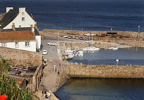 The Harbour Crail. - Land and Sea