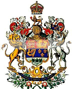 Canadian Coat of Arms - 1921 - Heritage Family Name and Coat of Arms Store