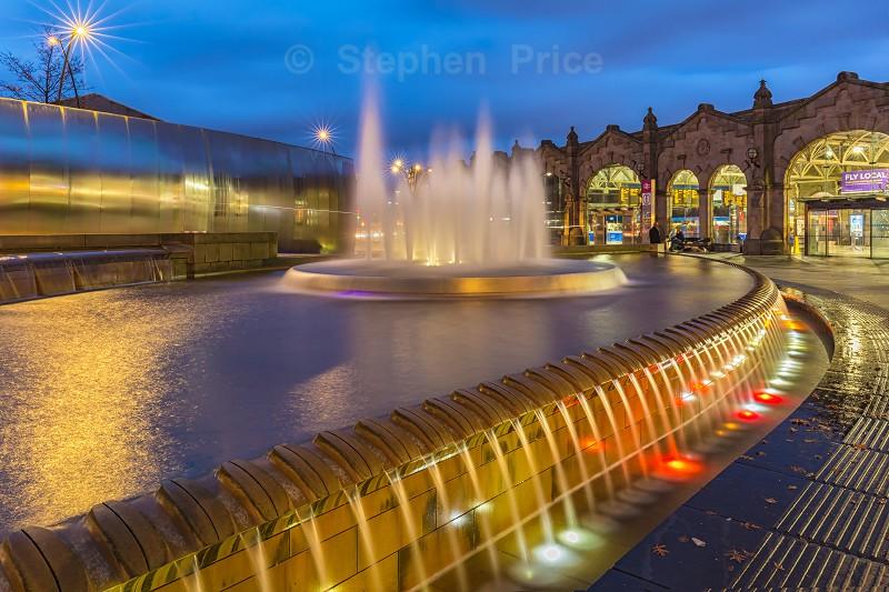 Sheffield Train Station - Photographs of City Scenes