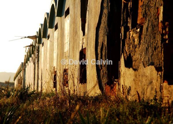Row of Huts - Dereliction