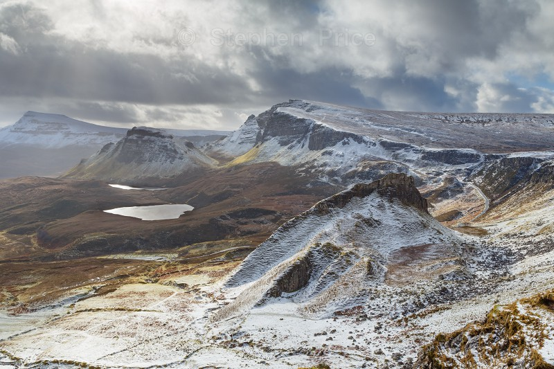 Quiraing Hills Isle of Skye | Scotland Landscape winter photography