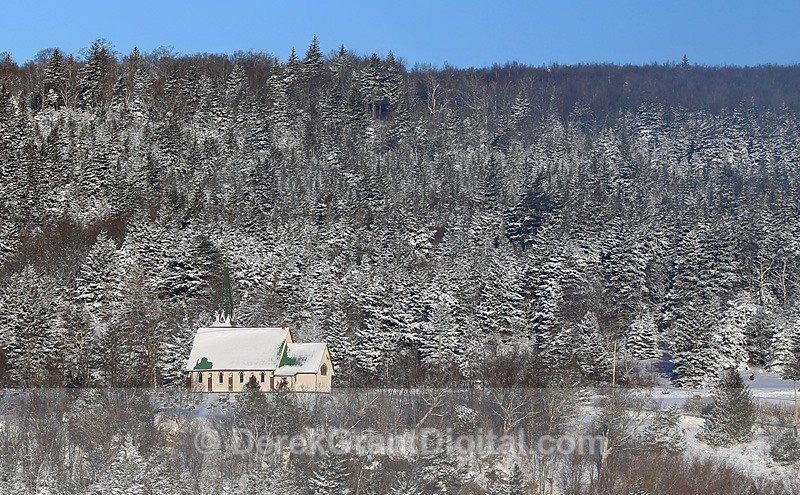 Clifton Royal, New Brunswick - Winterscape