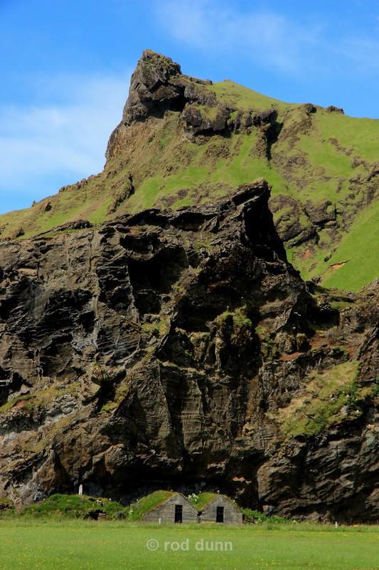 Traditional Icelandic dwellings - Iceland