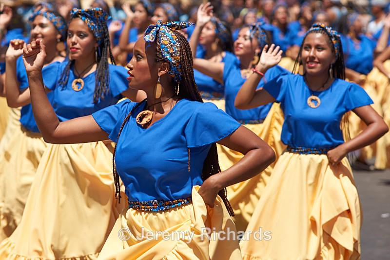 Afrodescendiente Arica Negro - Carnaval Andino Con La Fuerza Del Sol - Arica