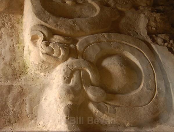 Yaxha Stucco - Monument