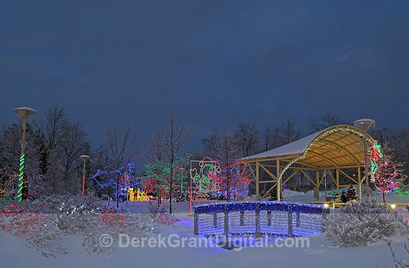 Illuminating ~ Quispamsis Arts & Culture Park - Winterscape