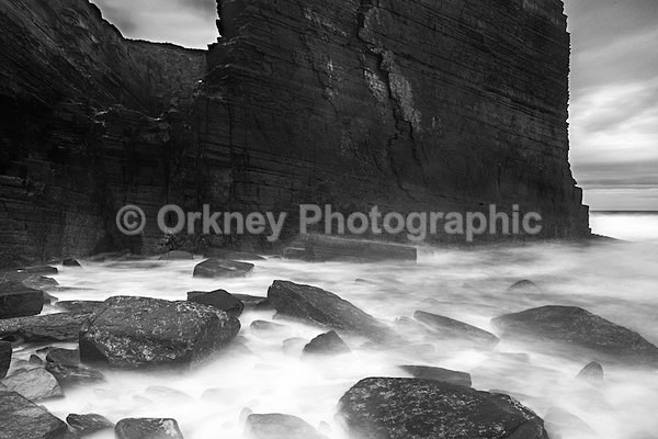 Misty black and white - Orkney Images