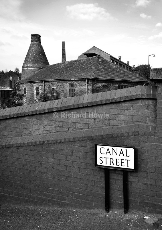 Canal Street - Potteries Images