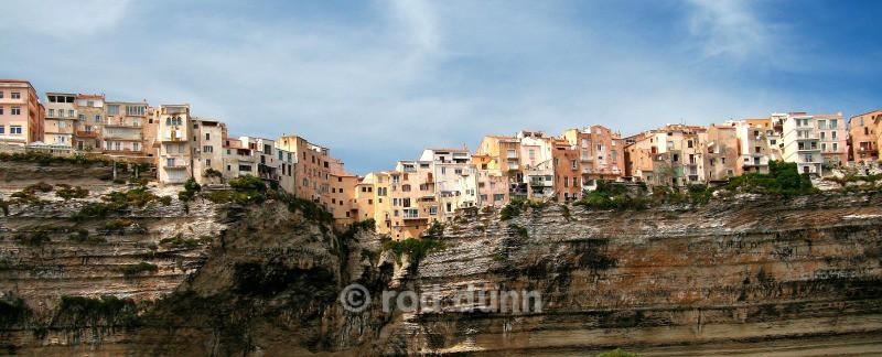 Bonifacio from the sea - Corsica