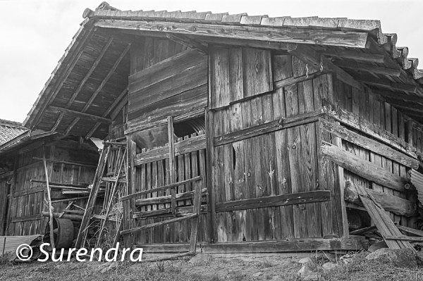 Abandoned Barn 1 - Buildings in Decline