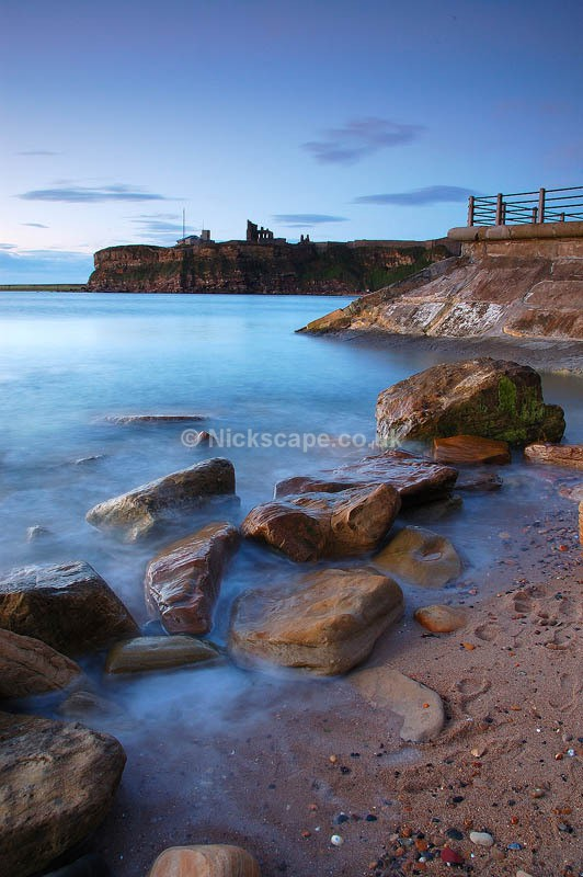 Seacape Art on the beach at Tynemouth | North Tyneside Coastal Photography Gallery