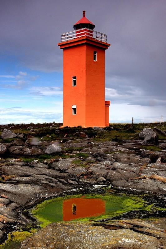 Sandgerdi lighthouse - Iceland