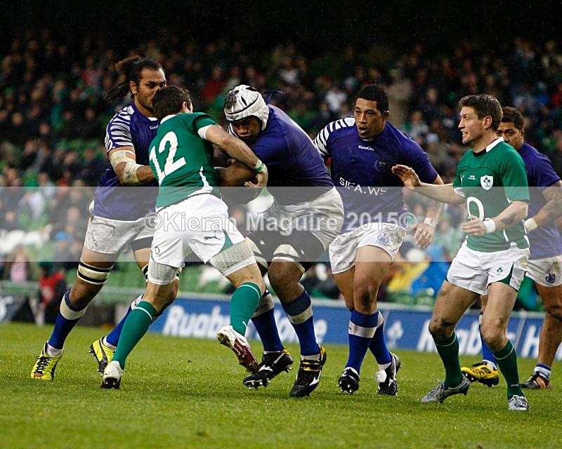_I2H5979 - Ireland v Samoa - Guinness Series - Aviva Stadium - Dublin - 13/11/2010 Ireland 20 v 10 Samoa