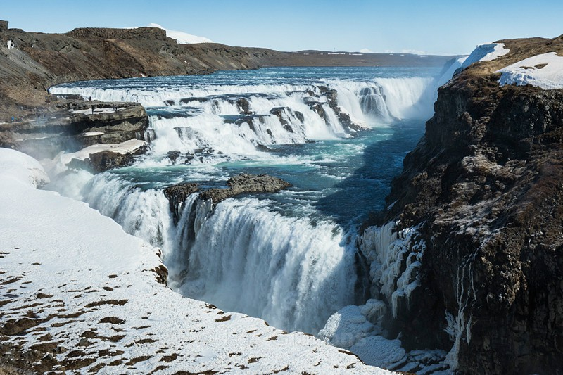 Gulfoss - South and Central highlands