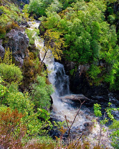 Waterfall at Inverkirkaig - Scottish Highlands