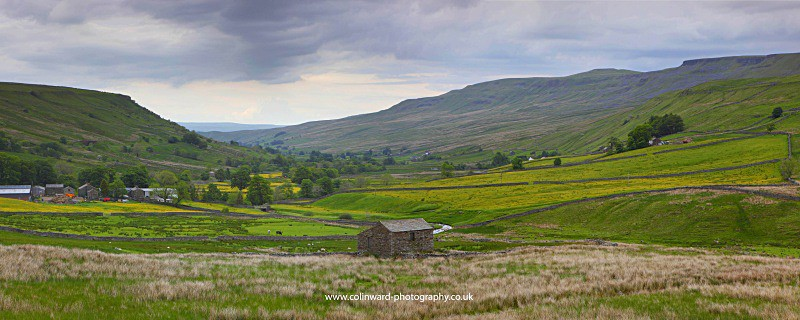Mallerstang in the Summer. - The Pennines and The Lake District