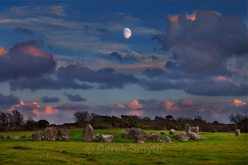 Ancient Ruins Ireland - Standing Stones - Ballynoe Stone Circle