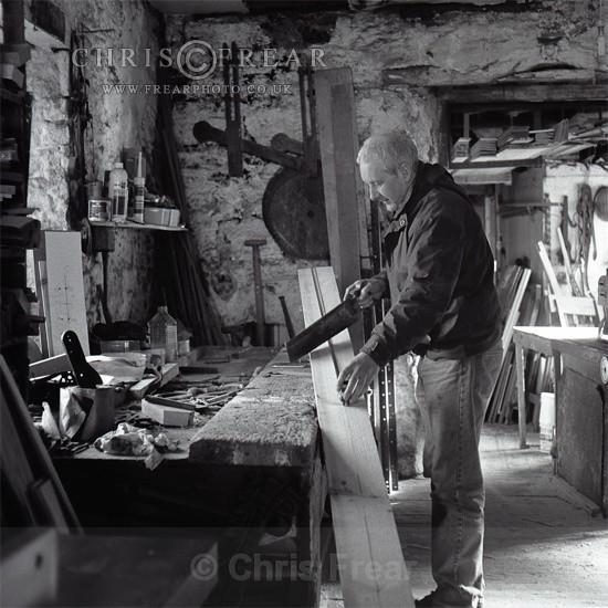Village Carpenter - Black & White